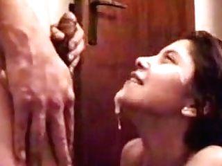 Indian Damsel Taking Another Hot Cum Shot