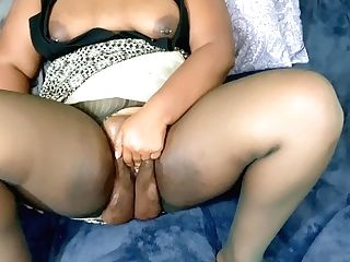Chubby Indian Bow Sapphic Masturbates After A Hard Days Work